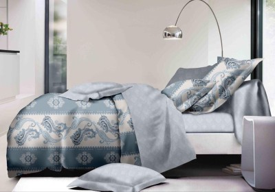 Shri Sai Enterprises Cotton Printed Double Bedsheet