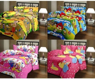 AS42 Polycotton Cartoon Single Bedsheet