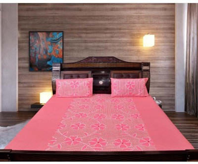 Moms Collection Cotton Floral Double Bedsheet
