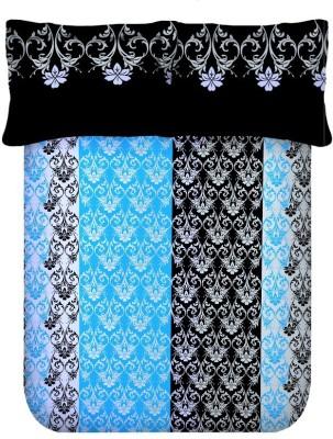 Axotic Cotton Motifs Double Bedsheet