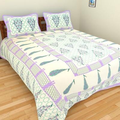 Rangasthali Cotton Paisley Double Bedsheet