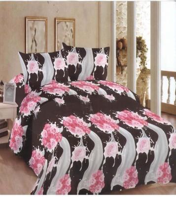 Goodkarma Polycotton Floral Double Bedsheet