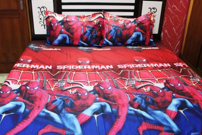 Indiano Polycotton Cartoon Queen sized Double Bedsheet