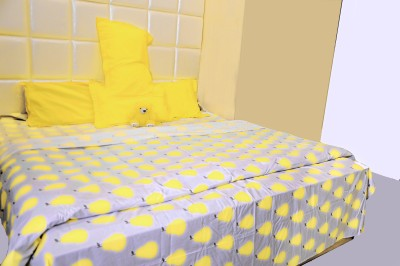 Midha Groups Cotton Geometric Double Bedsheet
