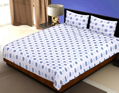 Tag Product Store Cotton Polka Double Bedsheet