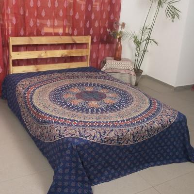 Ocean Home Store Cotton Motifs Queen sized Double Bedsheet