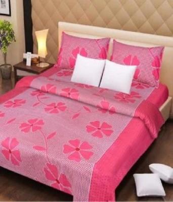 Excel Bazaar Cotton Printed Double Bedsheet