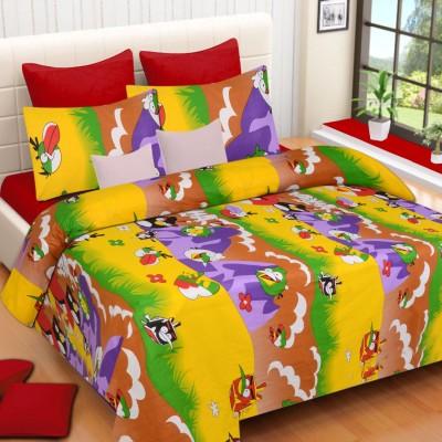 Heritage Singhal Cotton Cartoon Double Bedsheet