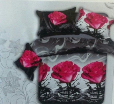 garima 7 star Polyester Floral Double Bedsheet