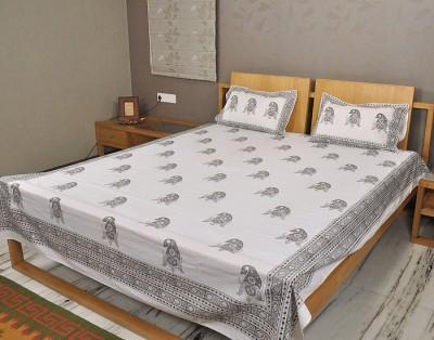 Rajrang Cotton Paisley Double Bedsheet