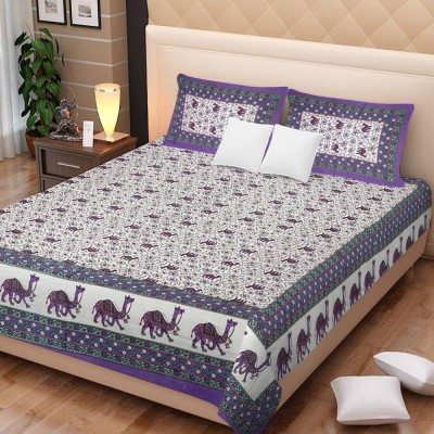 Bombay Spreads Cotton Printed King sized Double Bedsheet