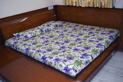 Jenco Fabrics Cotton Floral King sized Double Bedsheet