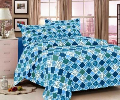 Jiya Decor Cotton Printed Double Bedsheet