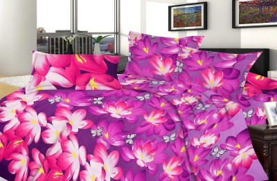Urban Style Polyester Abstract Double Bedsheet