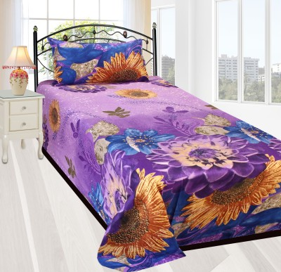 HSR Collection Cotton 3D Printed Single Bedsheet