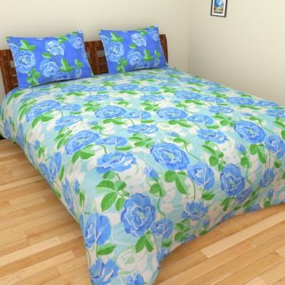 Birla Century Eva Cotton Floral Double Bedsheet