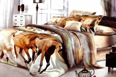 Dream Weaverz Polycotton Printed Double Bedsheet