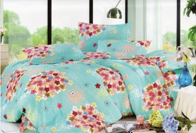 CICI Polycotton Floral Queen sized Double Bedsheet