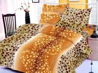 Octane Cotton Polka Double Bedsheet(1 Bedsheet, 2 Pillow Covers, Green)