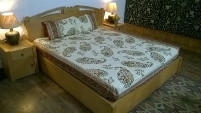 Trellis Cotton Printed Bedsheet