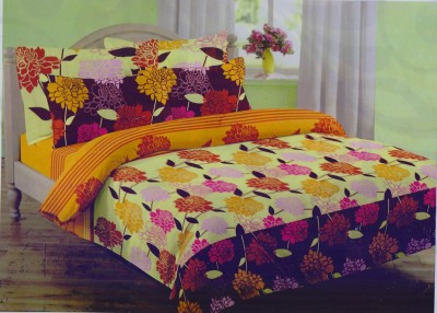 Mafatlal Cotton Abstract King sized Double Bedsheet