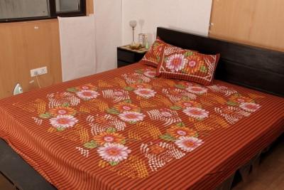 JMD Cotton Plain Queen sized Double Bedsheet