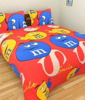 ShopSince Cotton Self Design Double Bedsheet