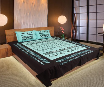 Pioneer Calicos Cotton Printed Double Bedsheet
