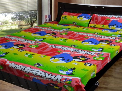 Fabbig Cotton Printed Single Bedsheet