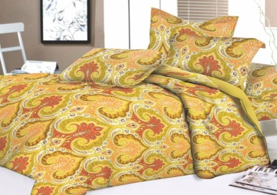 Lotus Cotton Floral King sized Double Bedsheet