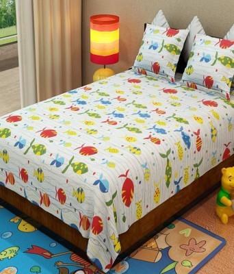 Handloom Times Cotton Cartoon Double Bedsheet