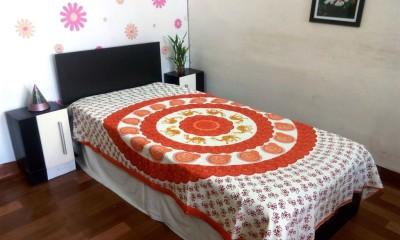JR Print Cotton Animal Single Bedsheet