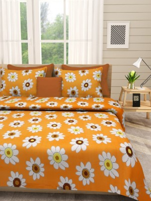 First Row Polycotton Floral Double Bedsheet