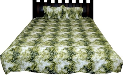 Nathi and Nancy Cotton Abstract Double Bedsheet