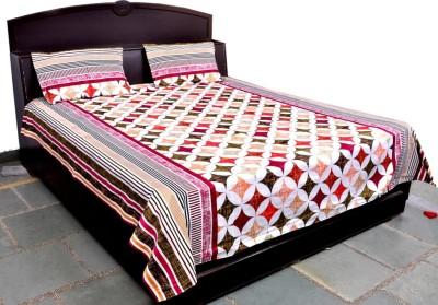 Govindam Enterprises Cotton Printed Double Bedsheet