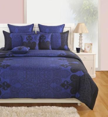 Swayam Cotton Floral Single Bedsheet
