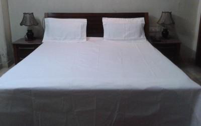 Fashion Fab Cotton Plain Double Bedsheet