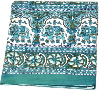 Valintinotextile Cotton Animal Double Bedsheet