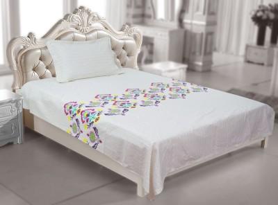 Elan Cotton Printed Single Bedsheet