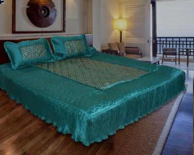 Rangasthali Satin Printed Double Bedsheet