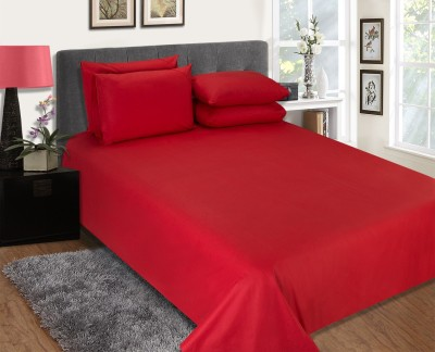 Sassoon Orro Cotton Plain King sized Double Bedsheet