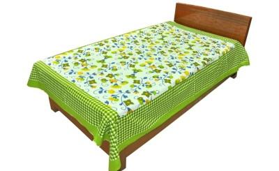 Silkworm Cotton Printed Single Bedsheet