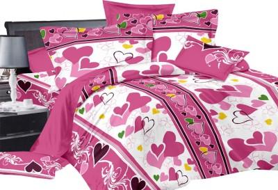Shop Avenue Cotton Abstract Double Bedsheet