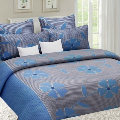 Sai Arpan Cotton Printed Double Bedsheet