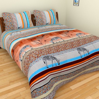 Ruby Polycotton Animal Double Bedsheet