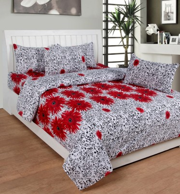 Saluja Enterprises Polycotton Printed Double Bedsheet