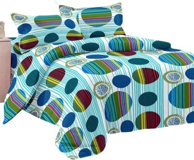 Shop Avenue Cotton Geometric Double Bedsheet