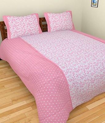 RK Cotton Floral Double Bedsheet