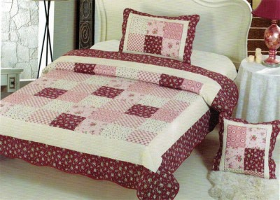 Serico Cotton Checkered Double Bedsheet