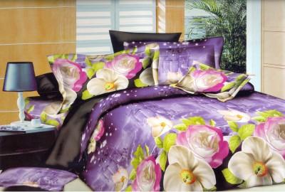 Maharaja Craft Cotton Floral Double Bedsheet